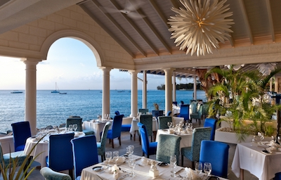 Barbados The Tides restaurant