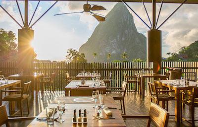 Caribbean St. Lucia Boucan Restaurant