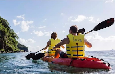 Kayaking St. Lucia