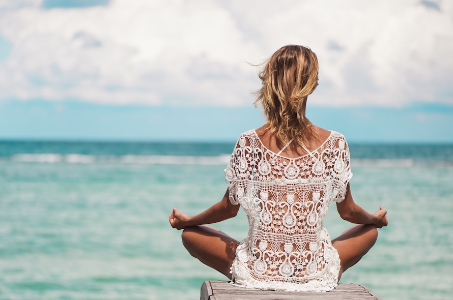Outdoor Yoga Perfection In The Caribbean