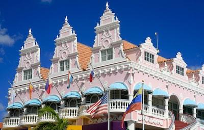 Aruba Caribbean island vacation