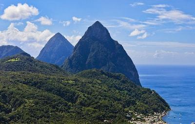 St Lucia Caribbean island vacation