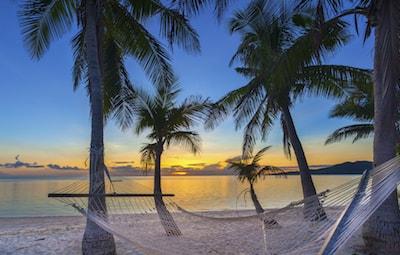 Caribbean vacation beach getaway